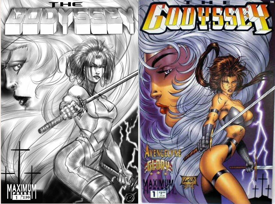 Reference Godyssey Cover by Rob Liefield