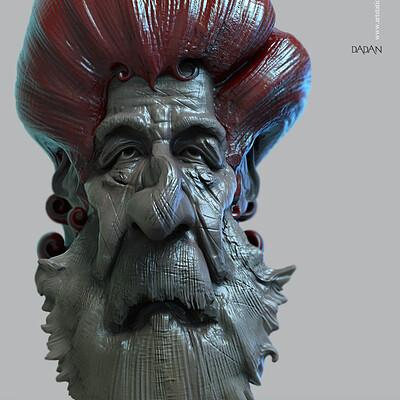 Surajit sen dadan digital sculpture surajitsen march2020s