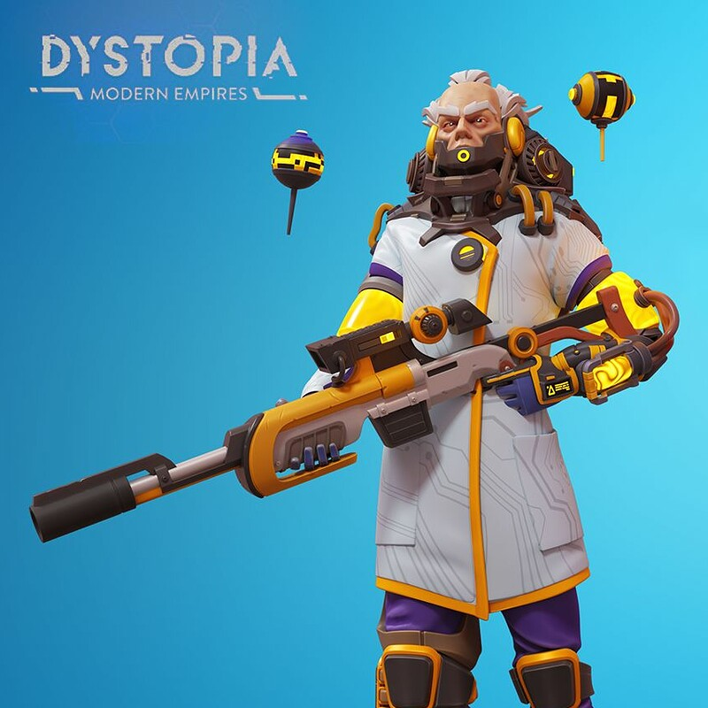 Snipe/Doc Capo character