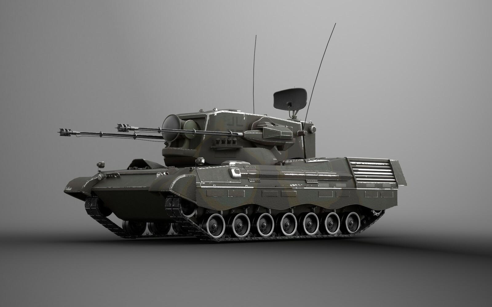 Flakanzer Gepard AA Gun