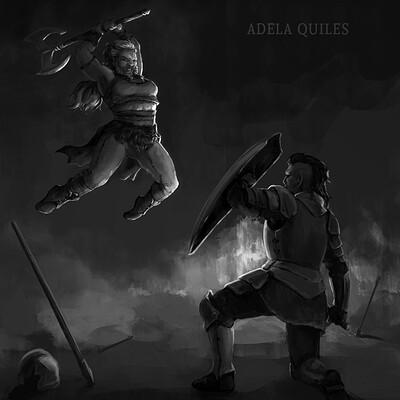 Adela quiles battle