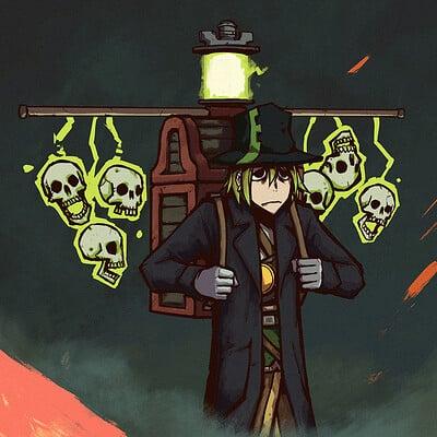 A shipwright gravekeeper