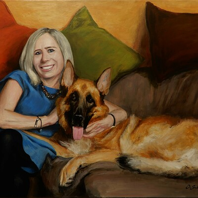 Portret z psem (2019)