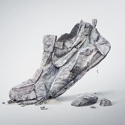 Franko schiermeyer nike sneaker rock