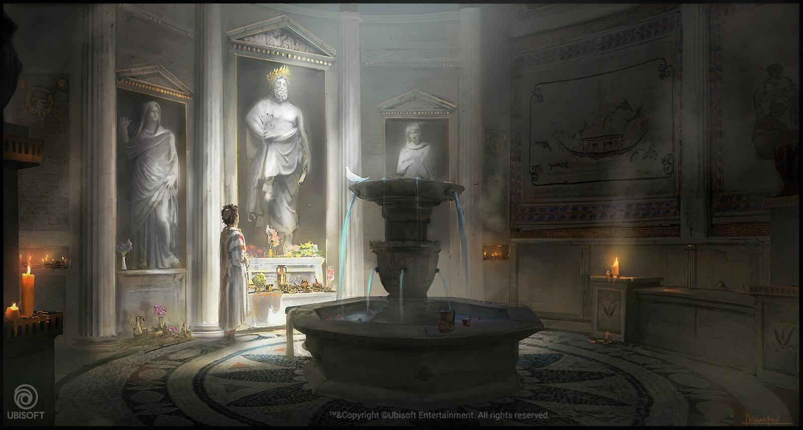 temple interior concept