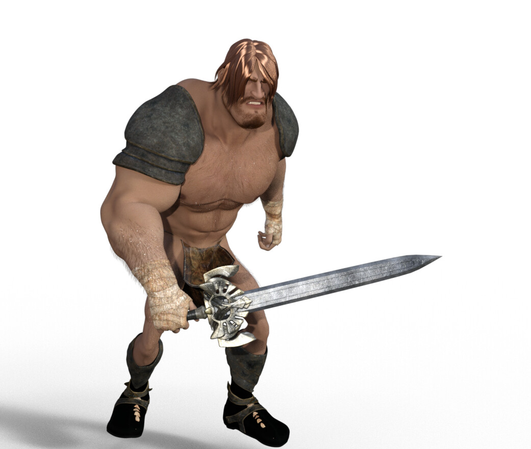 Kram, the Last Barbarian