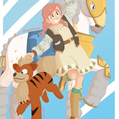 Robyn carlisle pokemon archeologist