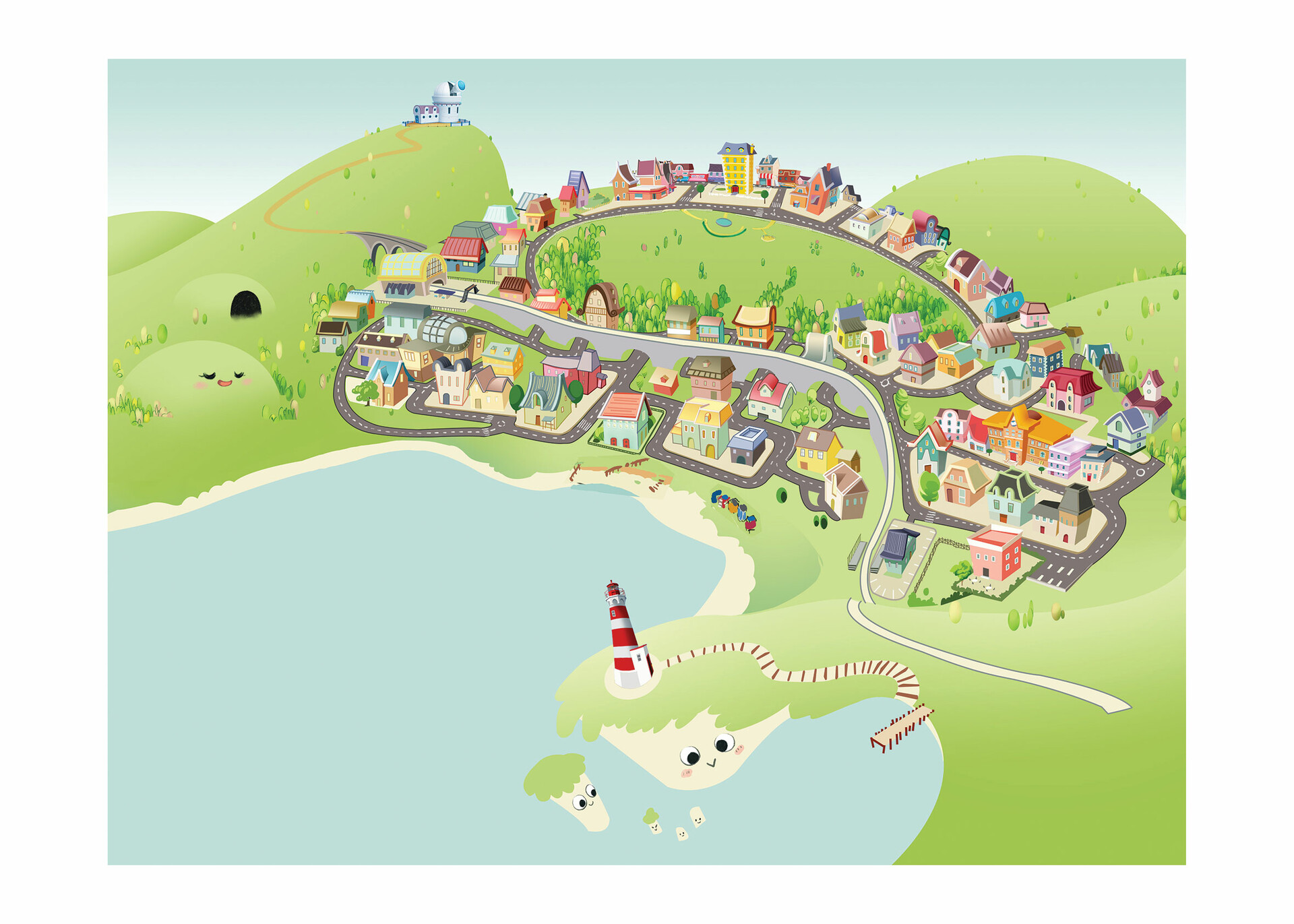 Final town in vectorial