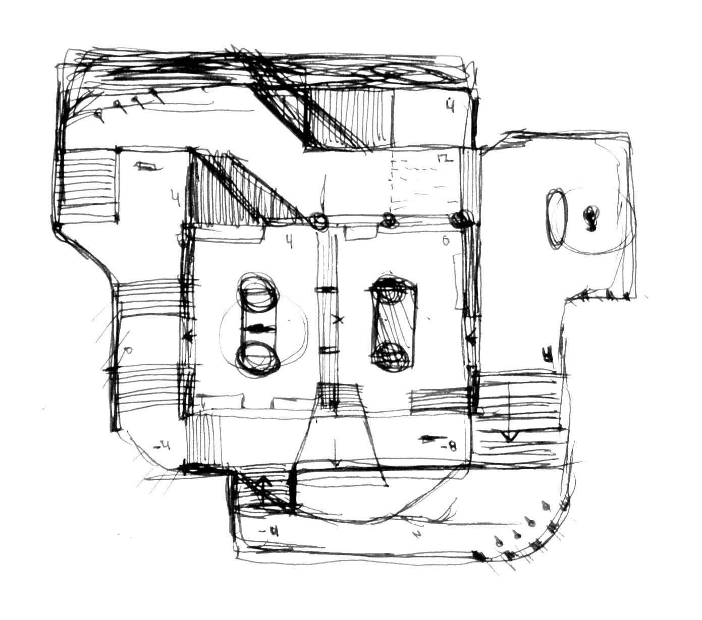 Original layout sketch