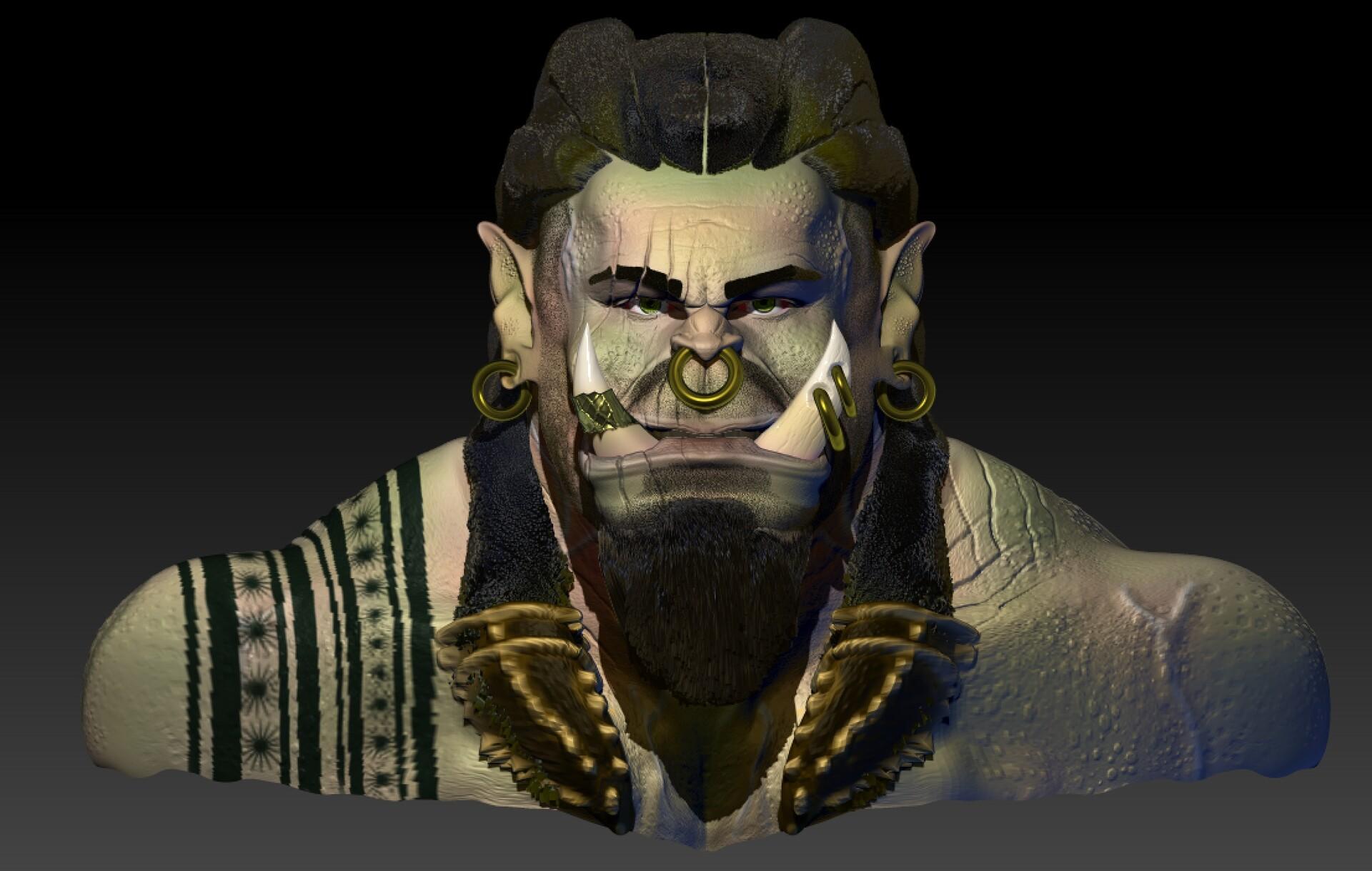Artstation Thrall Son Of Durotan From Warcraft Juan Jefferson