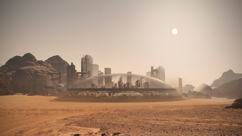 Mars base concept