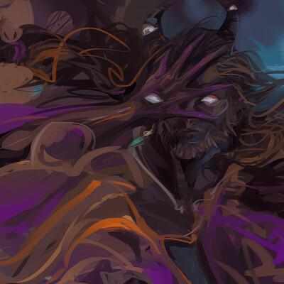 Paulina jaklik commission violet 4