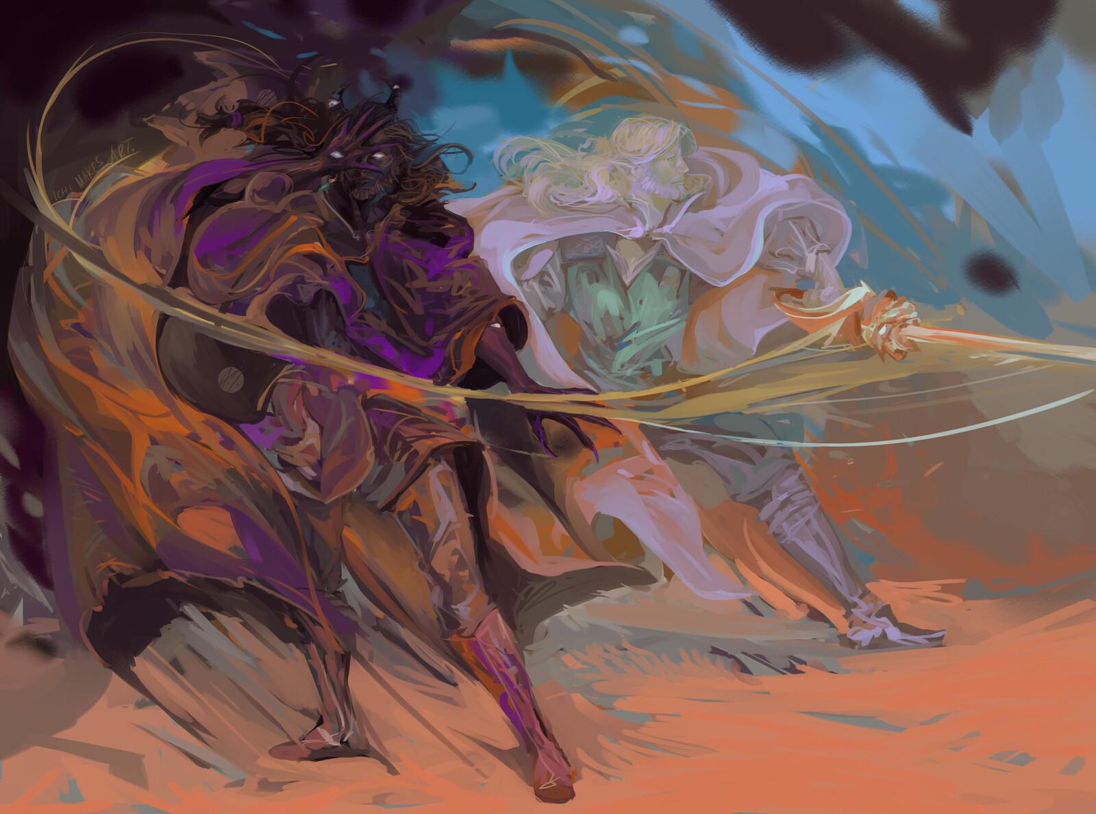 Commission for violetfoxsketches.tumblr.com