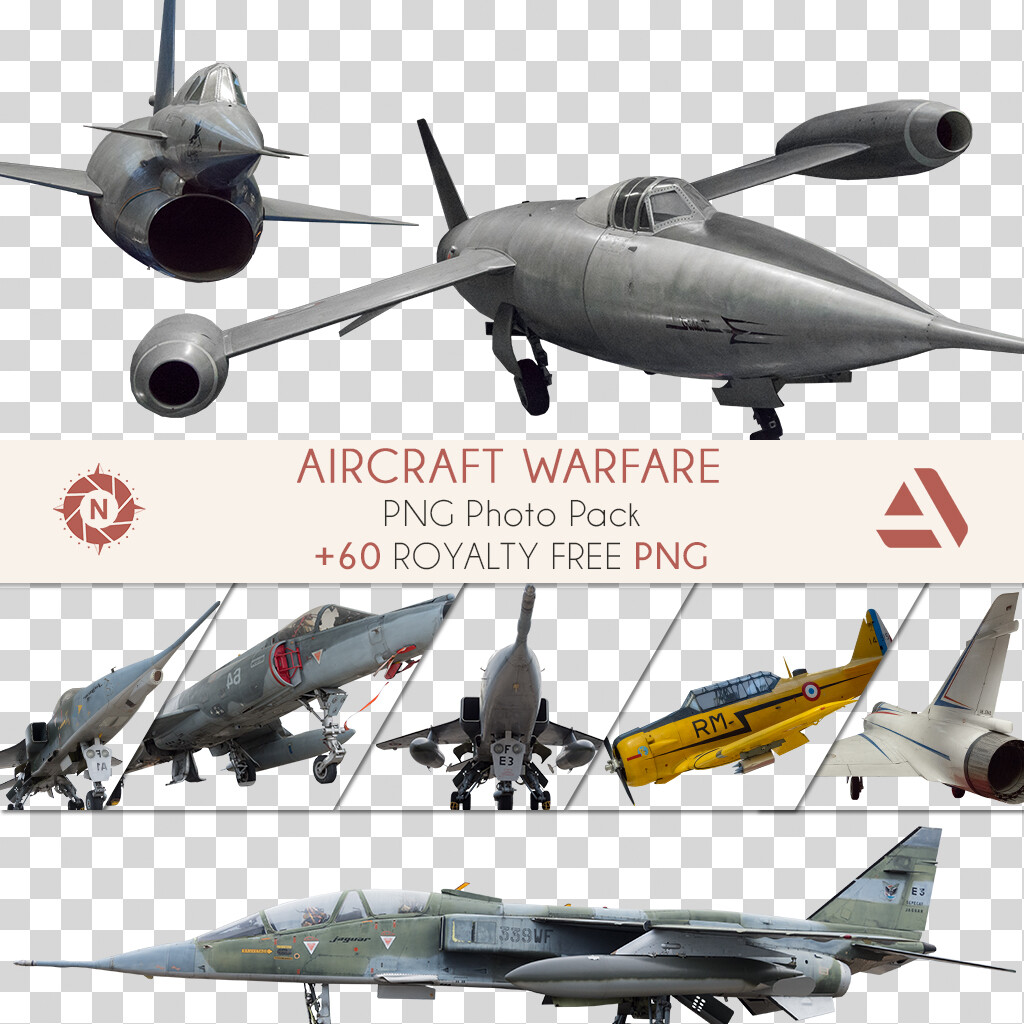 PNG Photo Pack: Aircraft Warfare  https://www.artstation.com/a/165892