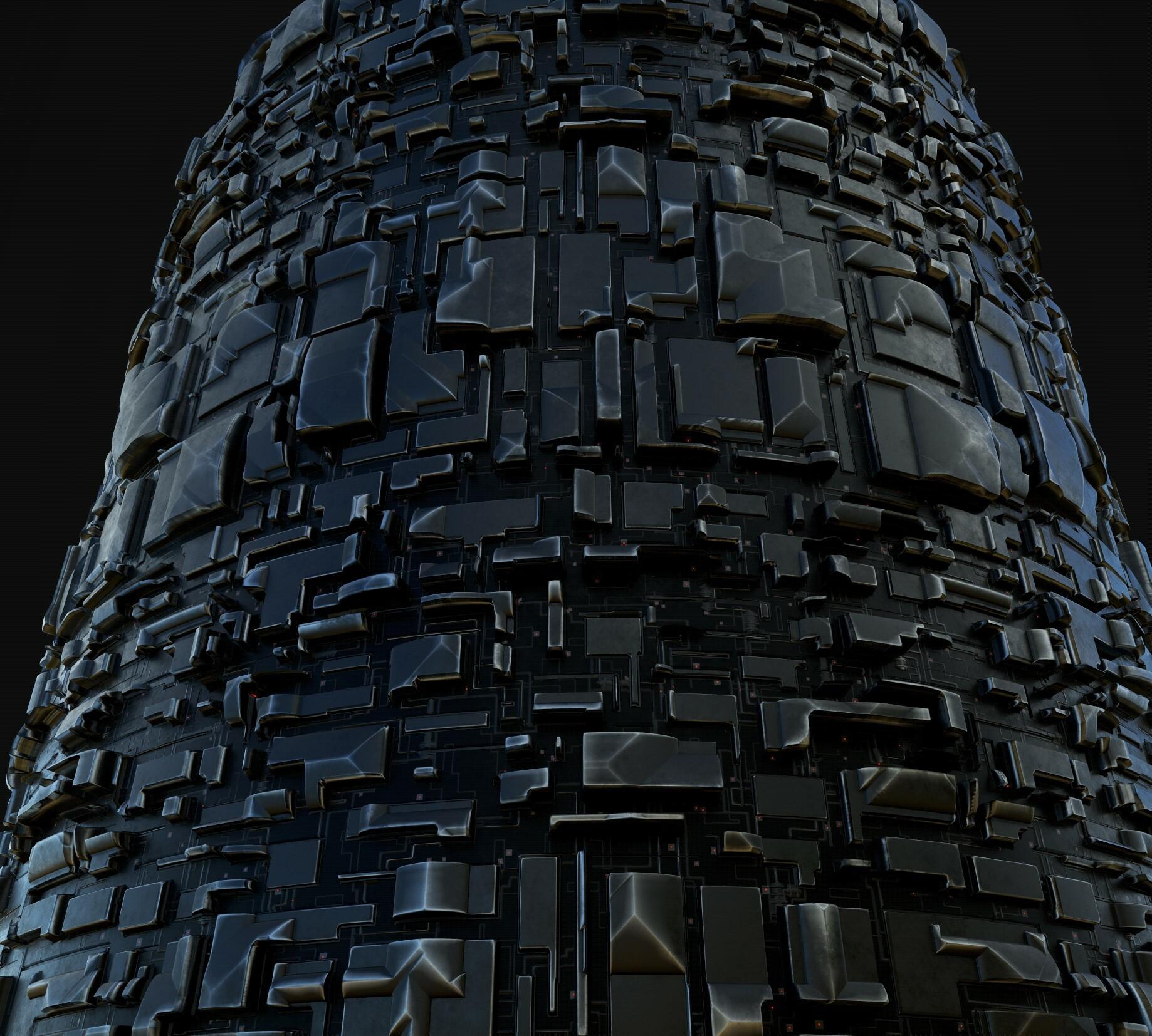 Cylinder test  2x tile