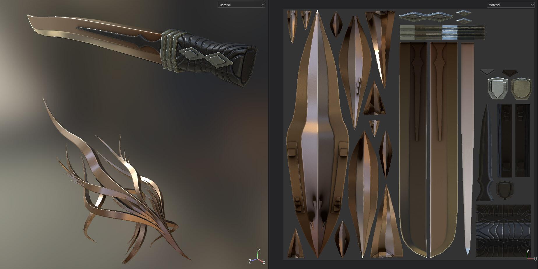 Screenshot from Substance Painter.