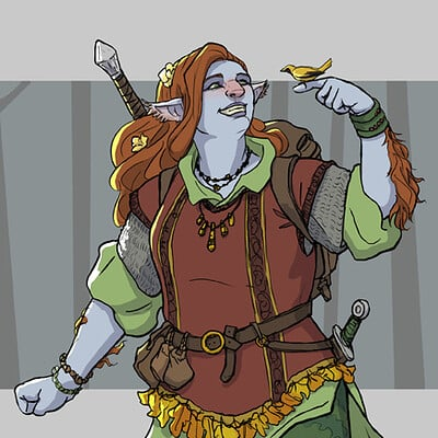 Adela quiles firbolg paladin final