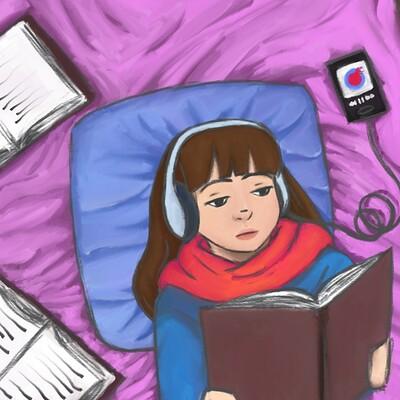 J l studygirl1colored