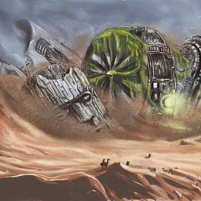 Israel maranguello desierto de khar