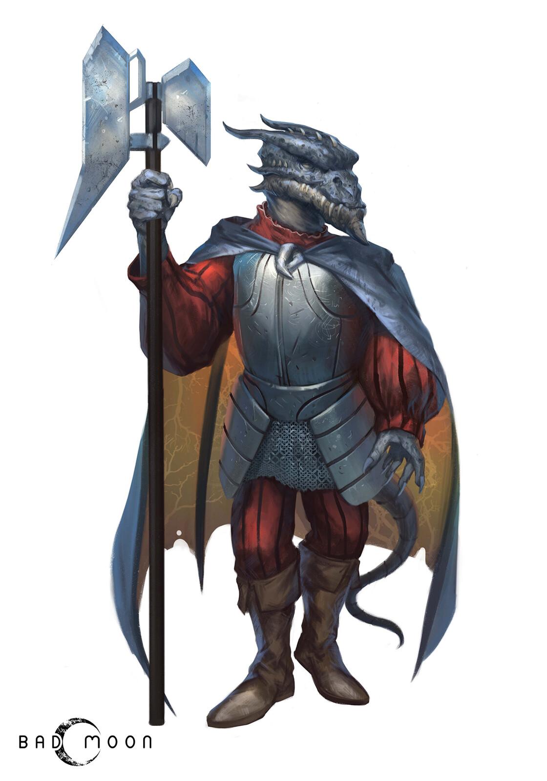 Characters for Sustina Saga