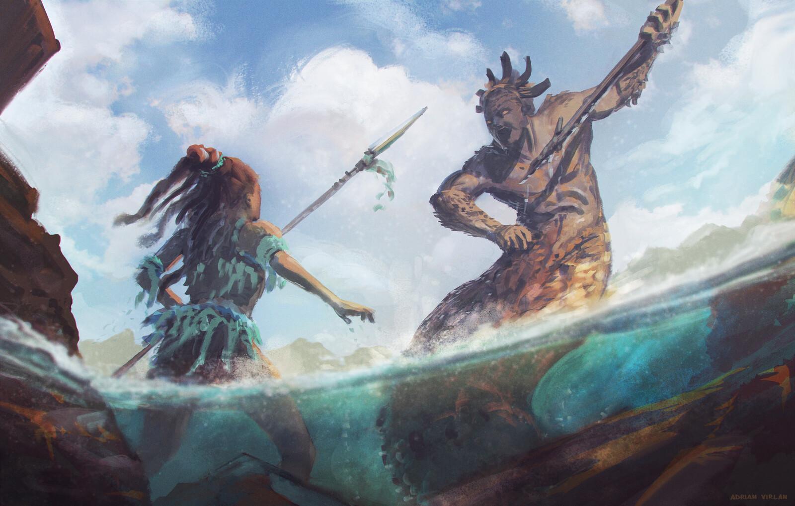 Combat - Nahui Ollin