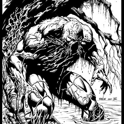 Matt james swampthing jasonfabok inktest2 by skeetnix d4clpw9