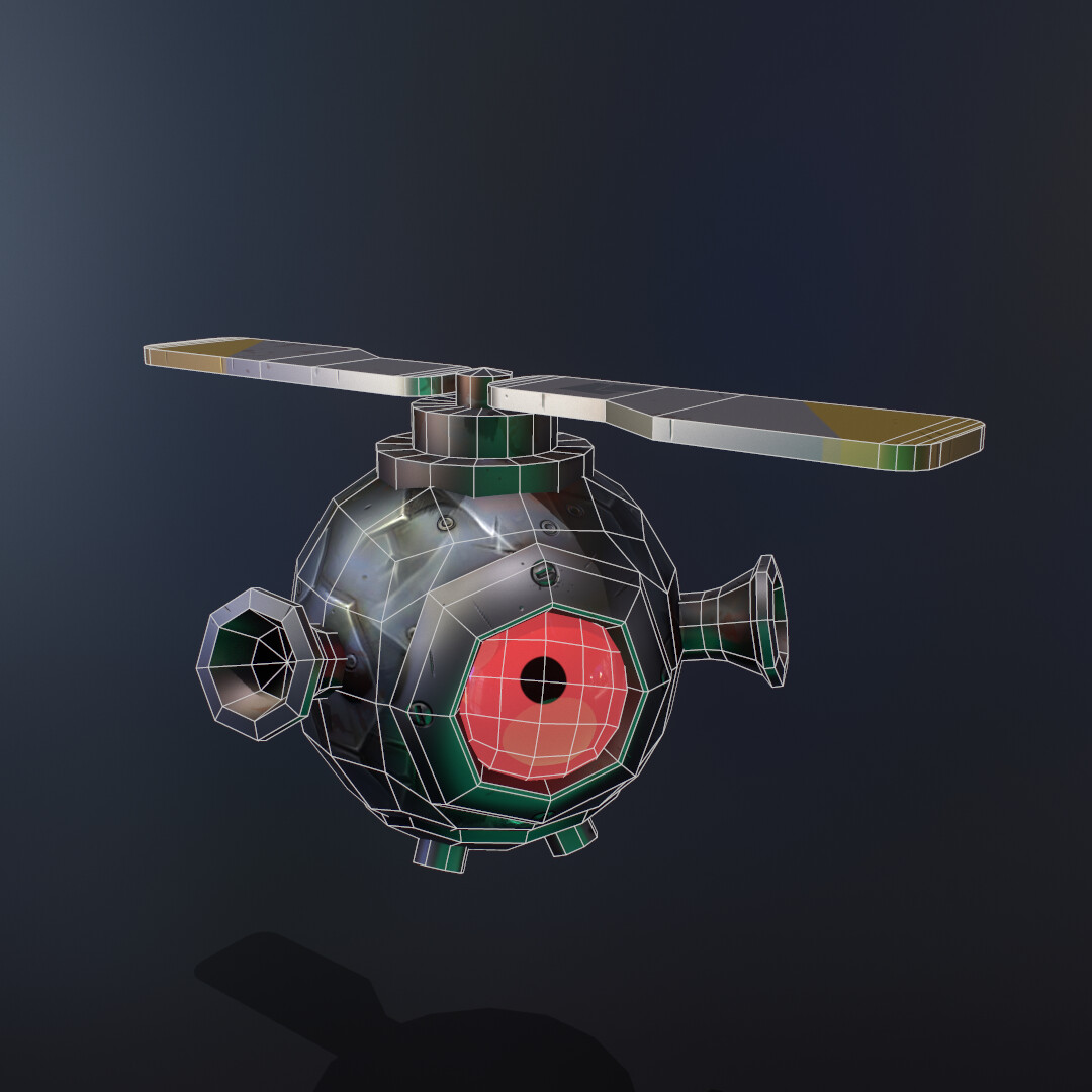 Copter Dros Wireframes