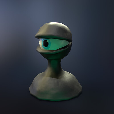 Adam idris little dros 3q stylized lowpoly game asset