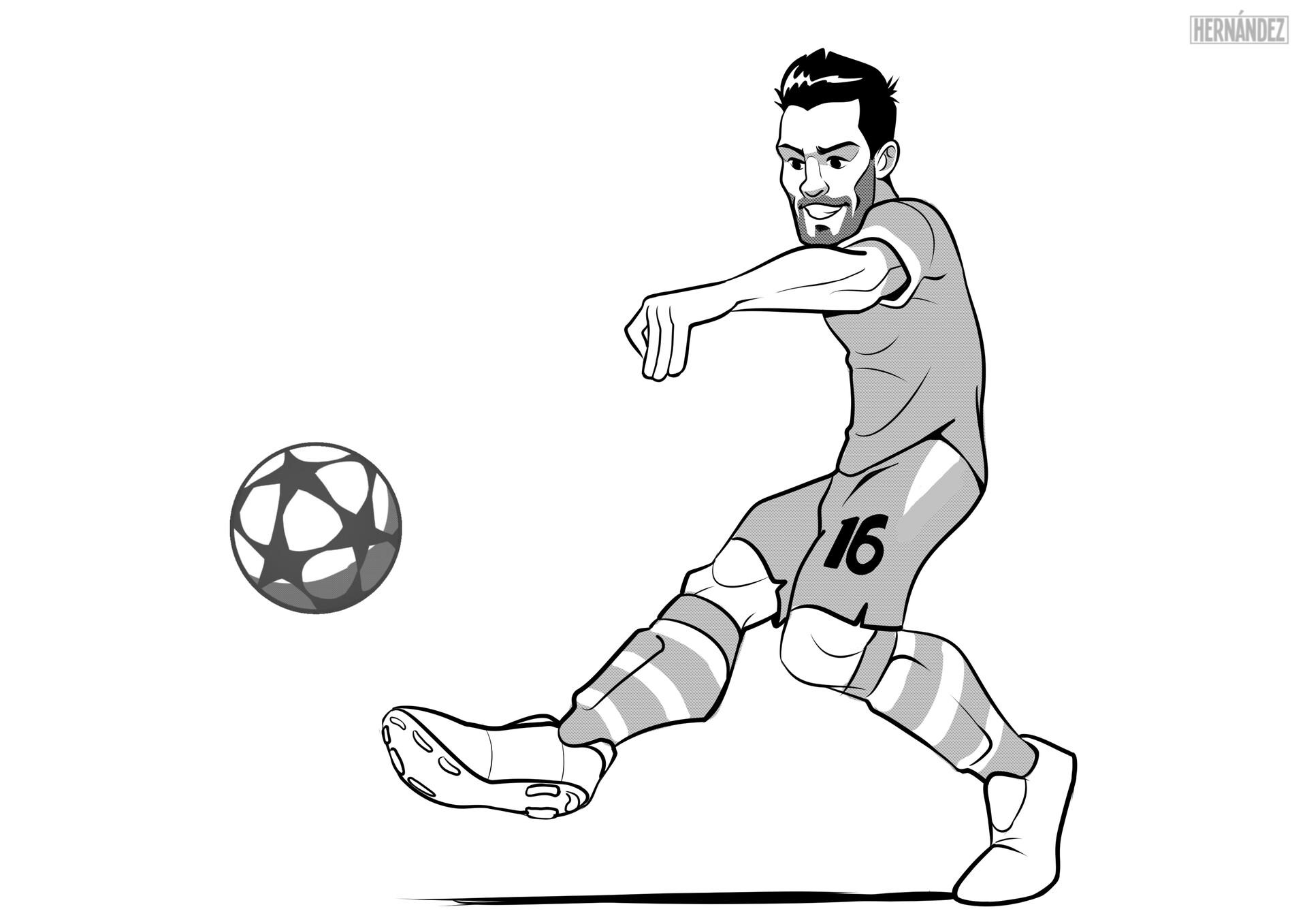"""16 Sergio """"Kun"""" Agüero"""
