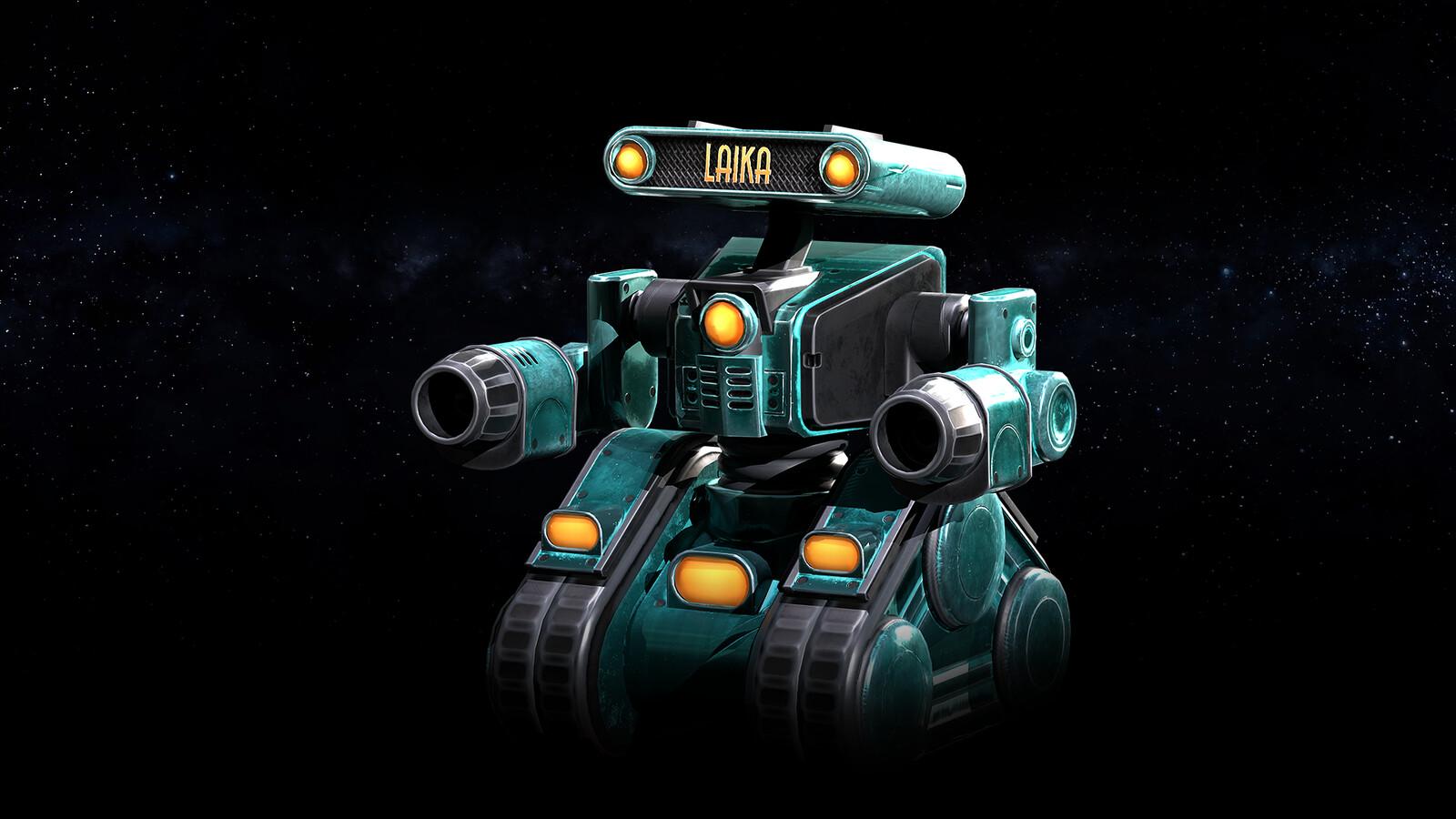 Laika Mining Robot
