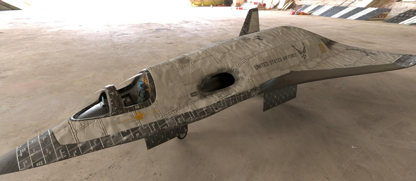 F-295 Military LEO Concept Fighter