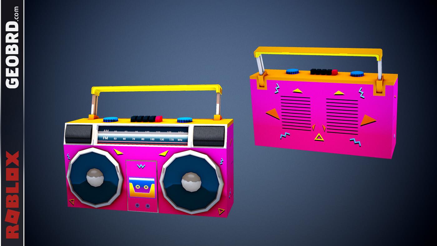Boss Neon Boombox