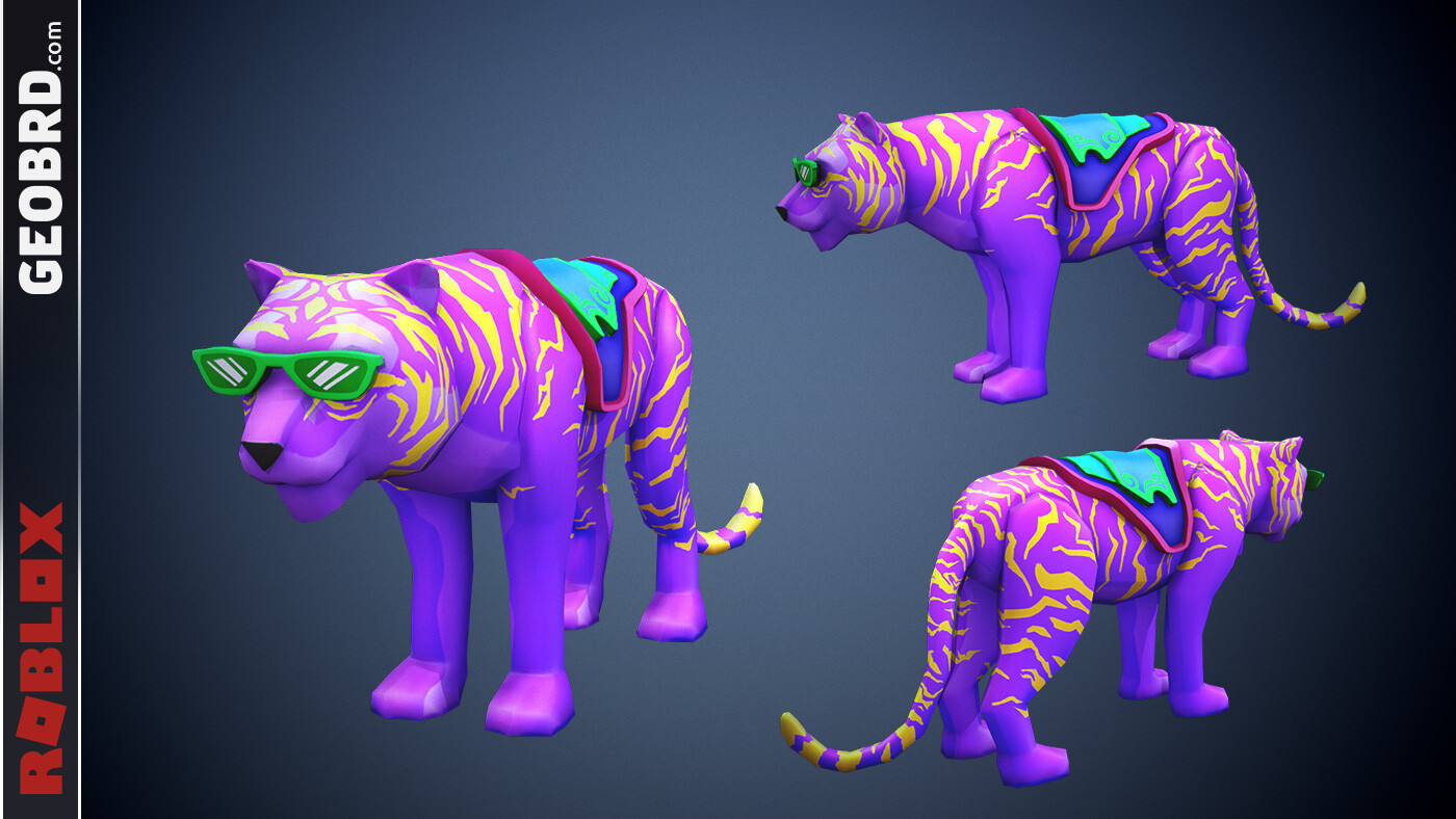 Neon Tiger mount