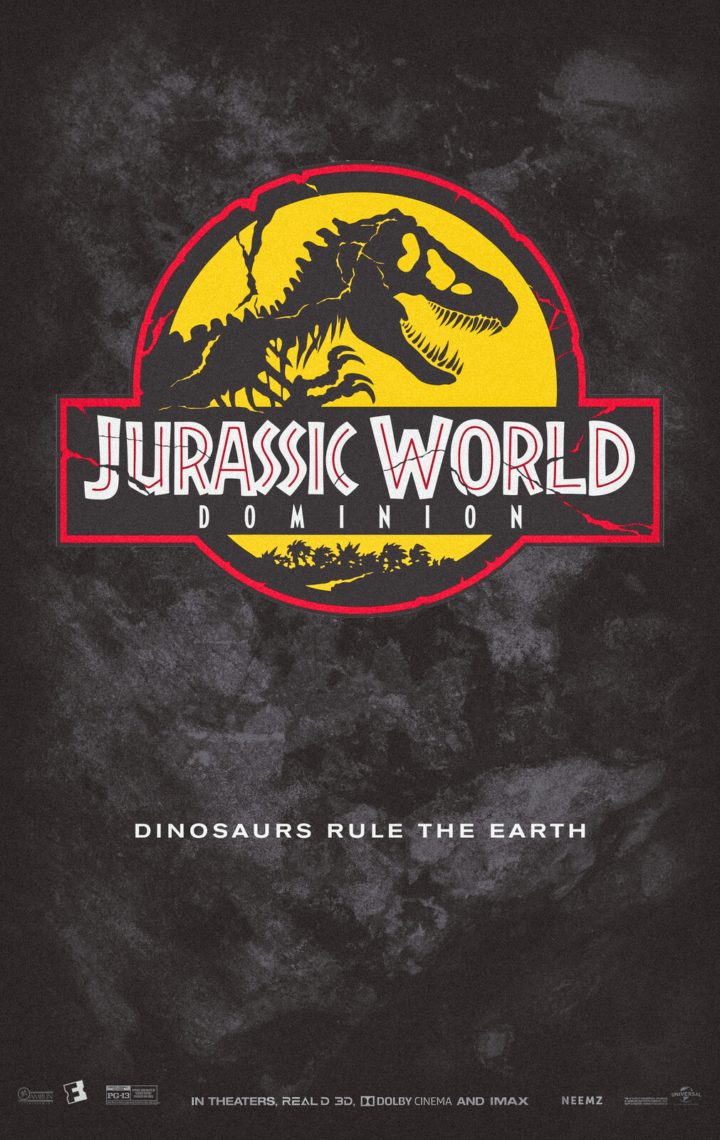 Jurassic World Dominion Movie Poster (Concept)
