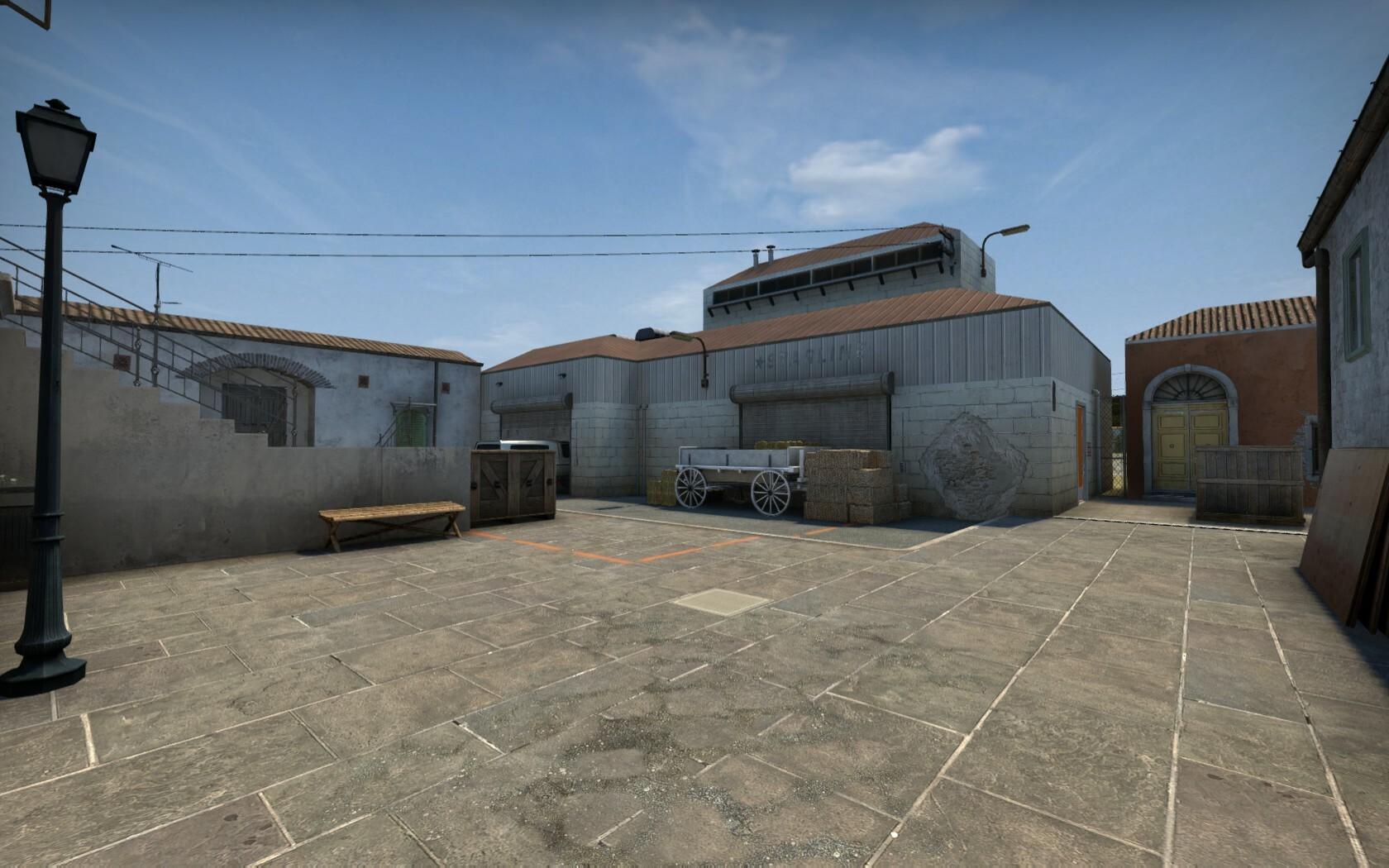 B-site warehouse