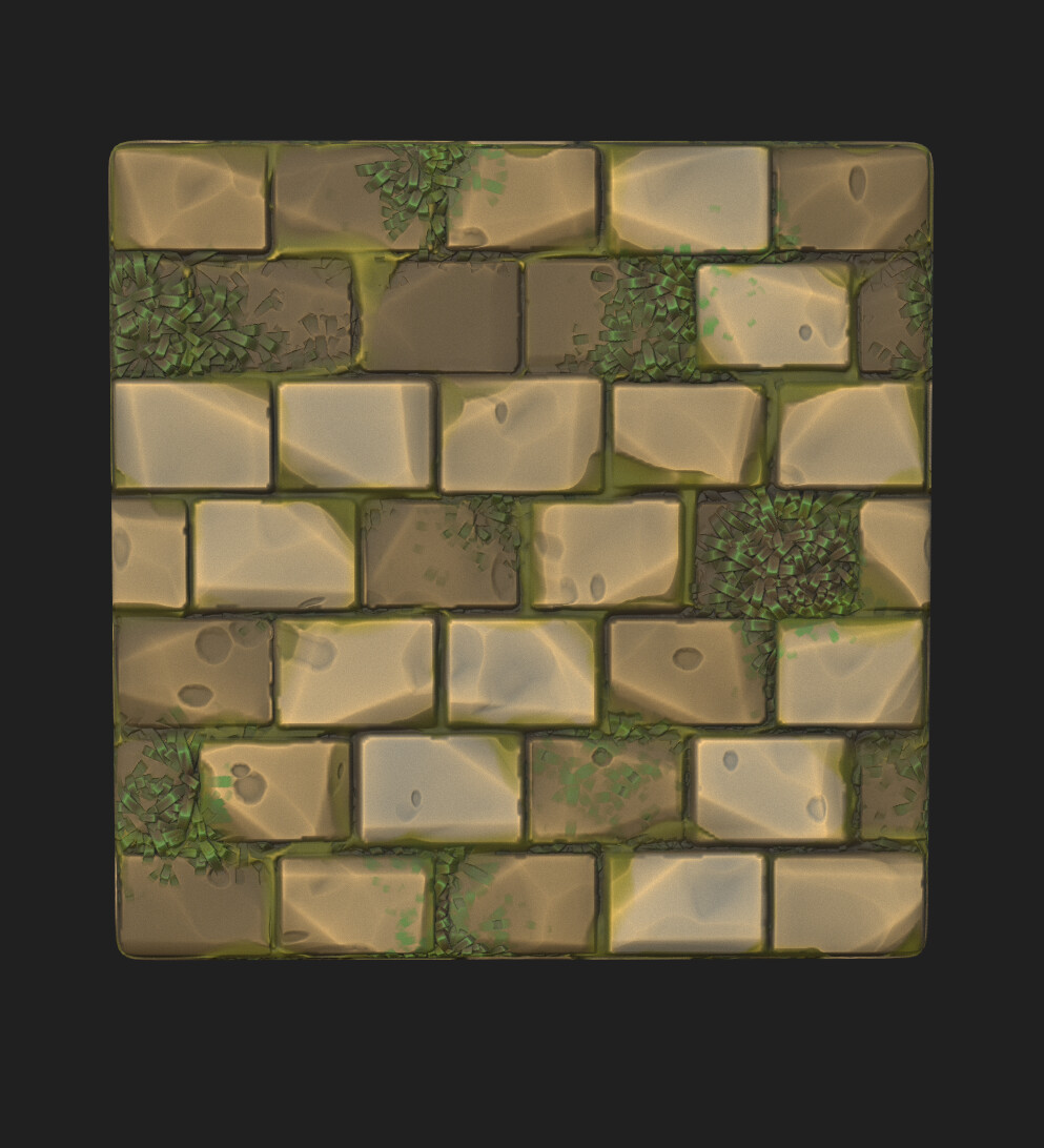 Substance Designer Brick Wall