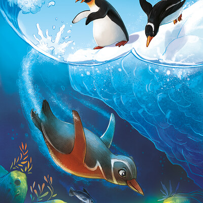 Aleksander jasinski pingwin 2d