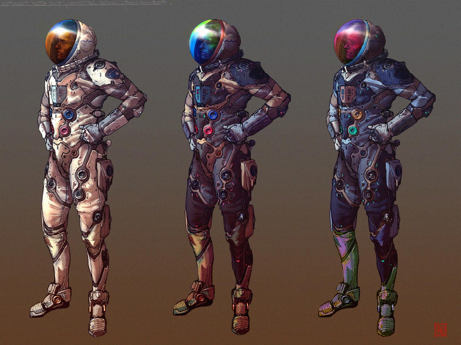 Astronaut - Suit level 1