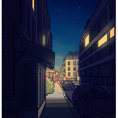 Hortense frouin rue nuit