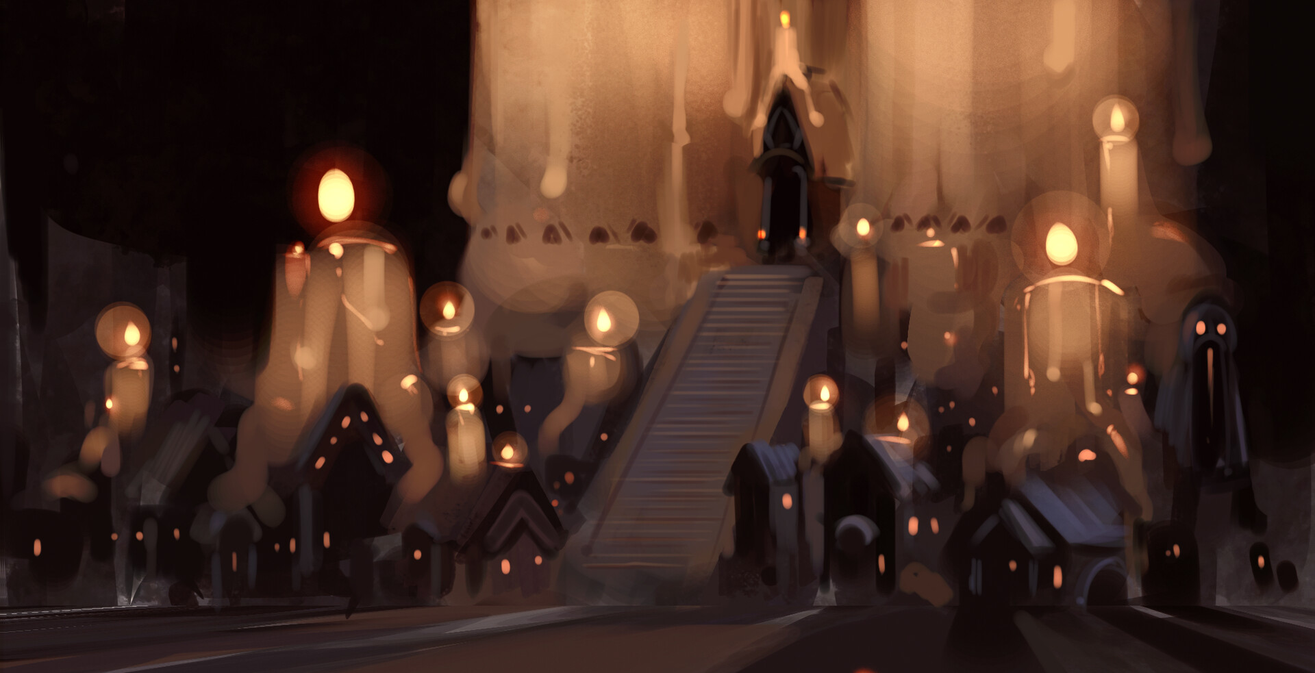 candle town