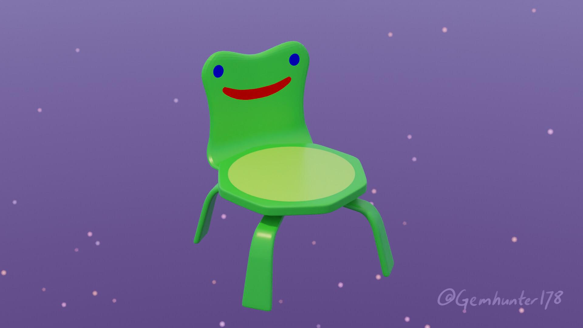 Artstation Froggy Chair Jason Chen