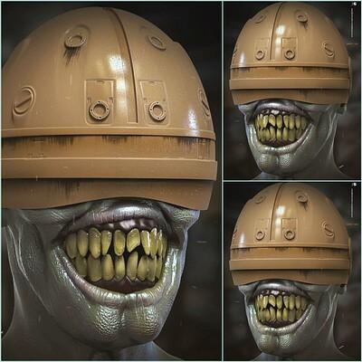 Surajit sen ghouls digital sculptor surajitsen march2020s a1