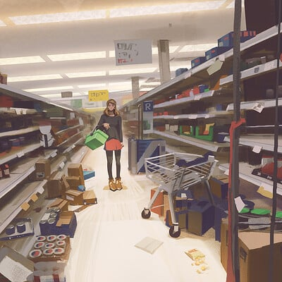 Atey ghailan the store