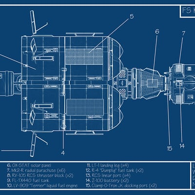 Fabian steven blueprint fs kerbal asparanuke mk1 eng