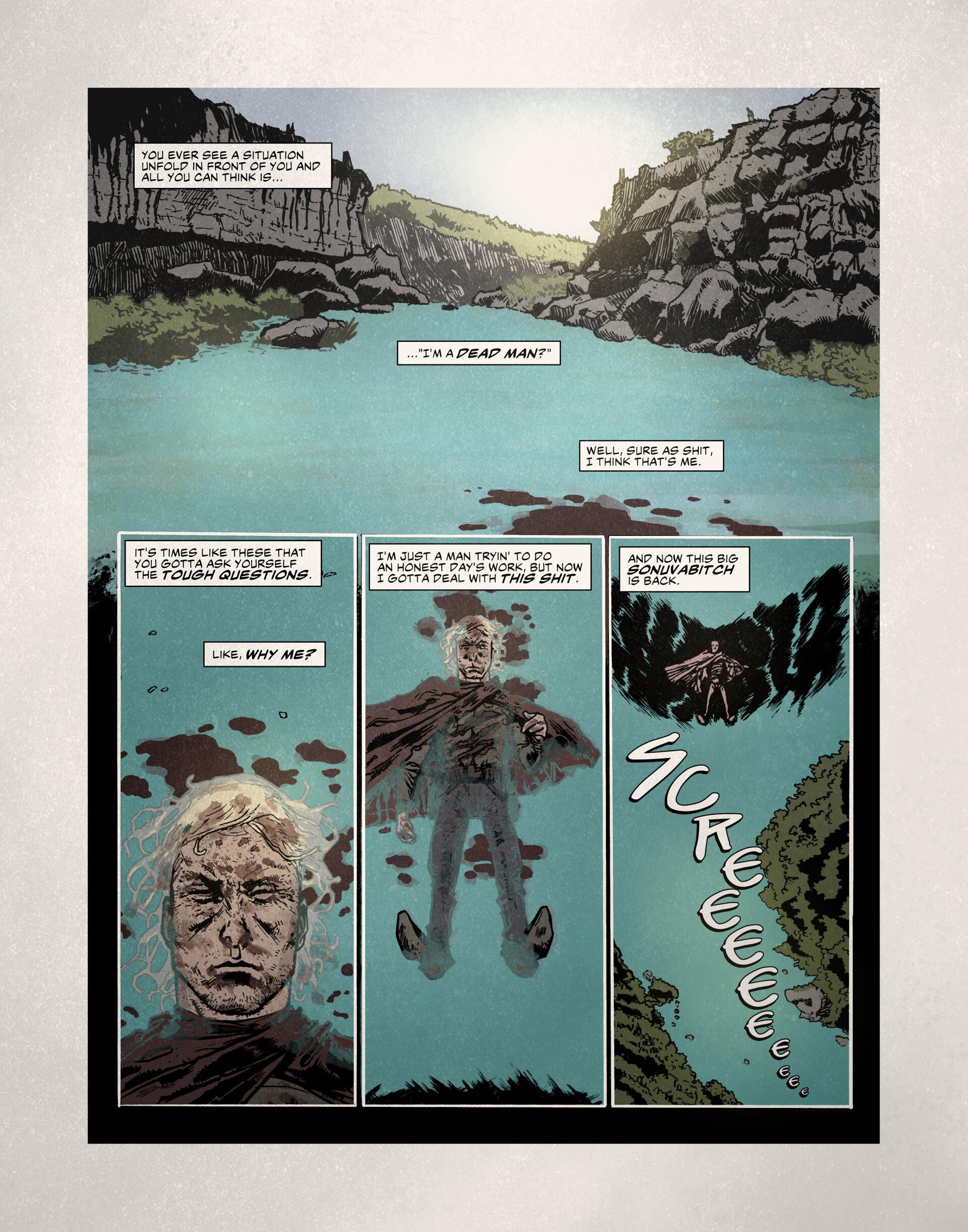 Story, Inks, Colors, & Letters: Randy Haldeman. Pencils: Eric Navarro