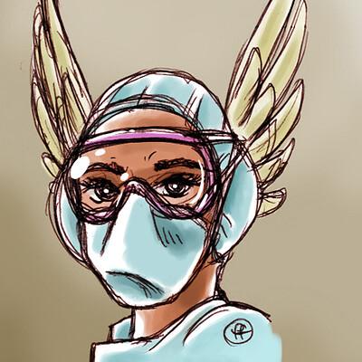 Fabian fucci 2020 03 21 enfermera 450x640