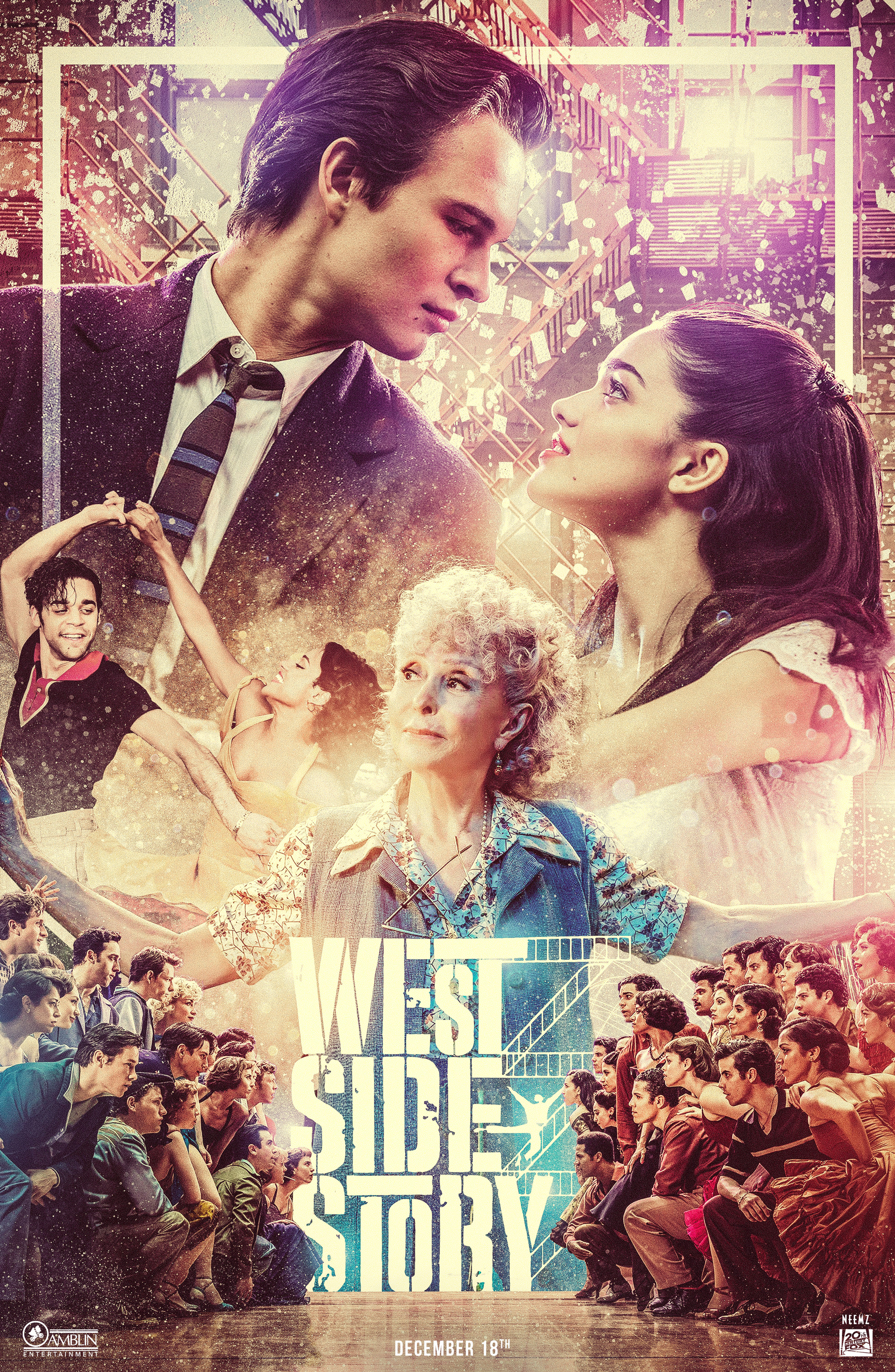 West Side Story Movie Poster - Directed by Steven Spielberg - Designed by Neemz, The Movie Poster Guy