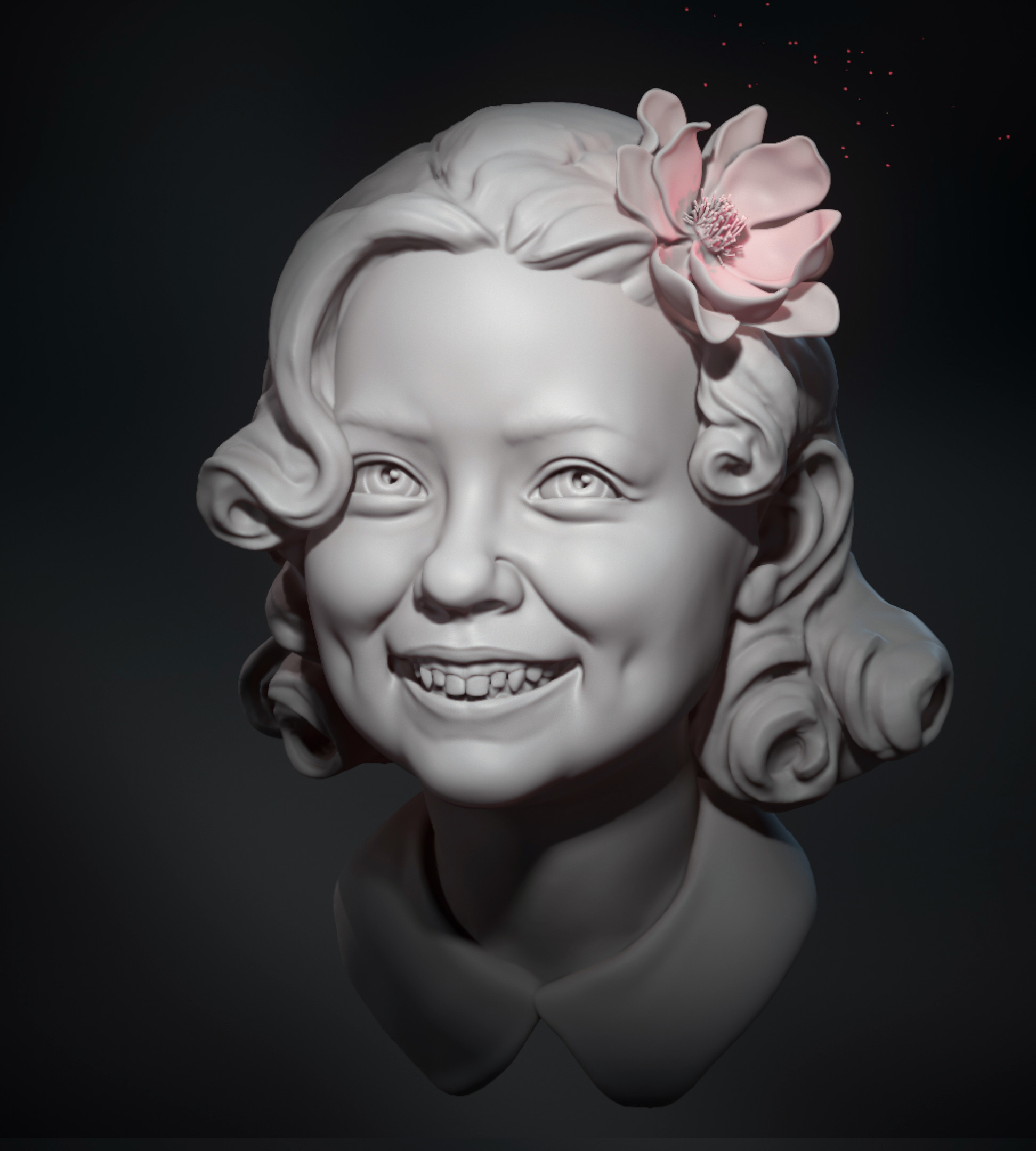 Bloom - quick zbrush Study