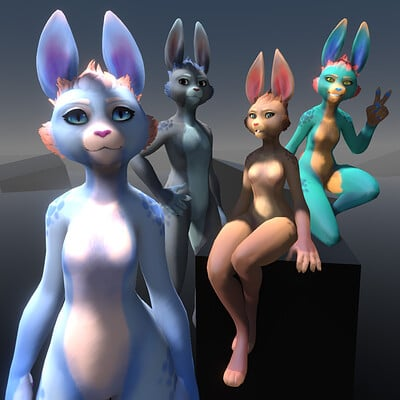 Rikke jansen bunniesgumrox