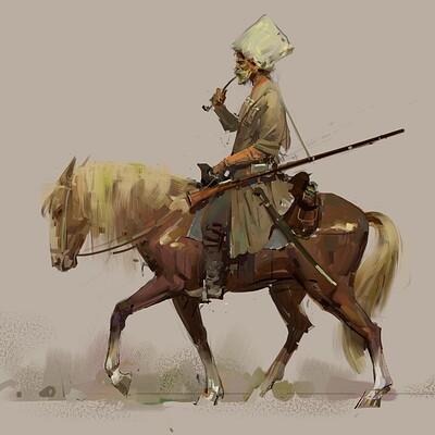 Pavel goloviy horseman